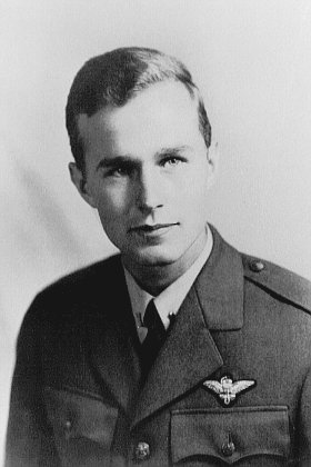 LT GEORGE  H.W. BUSH, USNR