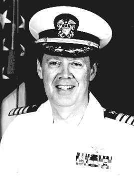 CAPT CLINTON  B. JOHNSON,  USN/USNR