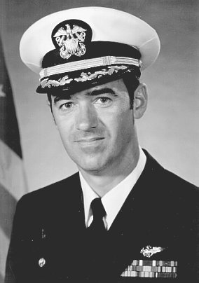 CDR JOHN  R. THOMPSON, USN