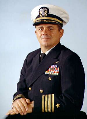 CAPT KENNETH  A. BURROWS, USN