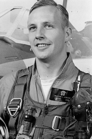 CAPTAIN WILLIAM  L. JENSEN, USN/DELTA