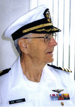 CDR ROBERT  E. NOBLE, USN