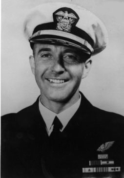 LCDR WILLIAM  E. HALL,  USNR