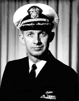CDR RICHARD  E. WHITE, USN