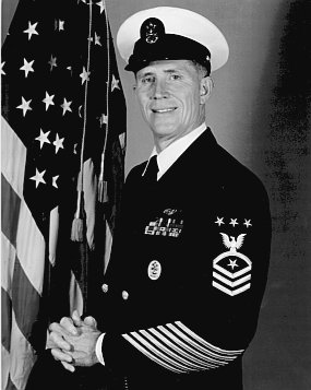 MCPON BILLY  C. SANDERS,  USN